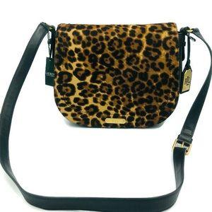 Ralph Lauren Glennmore Larissa Saddlebag Leopard